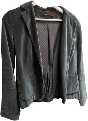 Comptoir des Cotonniers Khaki Velvet Jackets