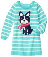 Gymboree Cozy Pup Sweater Dress