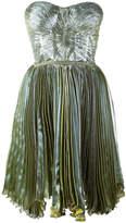 Maria Lucia Hohan Loliambrosia pleated bandeau dress