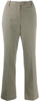 Aspesi Low-Waist Flared Trousers