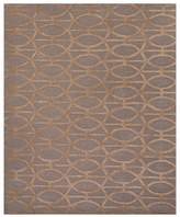 Jaipur City Area Rug - Tannin/Frosted Almond Spheres, 5' x 8'