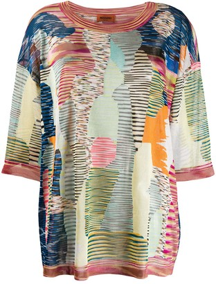 Missoni Patterned Blouse