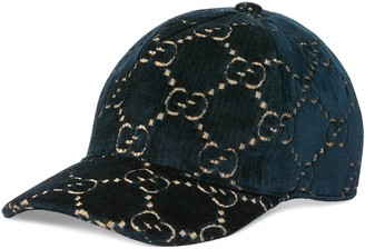 Gucci Children's GG velvet hat