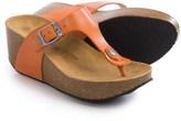 Eric Michael Lola Sabbia For Mila Platform Sandals - Leather (For Women)