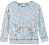 Jessica Simpson Bunny Graphic Sweatshirt, Big Girls (7-16)