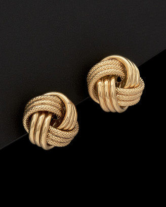 Italian Gold 14K Love Knot Earrings
