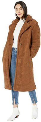BB Dakota Paddington Teddy Coat (Coco) Women's Coat
