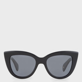 Paul Smith Onyx And Grey 'Lovell' Sunglasses