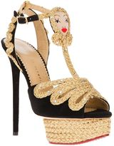 Charlotte Olympia 'Rapunzel' platform sandal