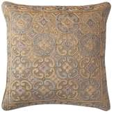 Loloi Rugs Poly-Set Pillow Cover, Beige and Silver