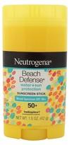 Neutrogena Beach Defense® Sunscreen Stick - SPF 50+ - 1.5oz
