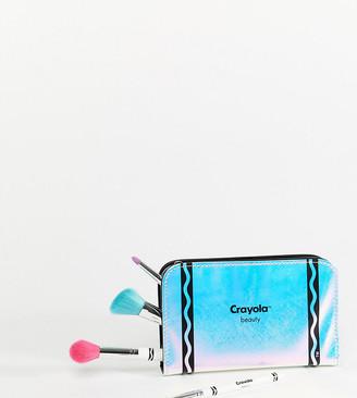 Crayola Makeup Brush and Pencil Case Set