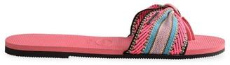 Havaianas You St. Tropez Fita Stripe Flip Flops