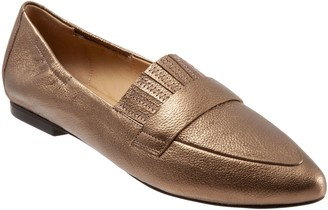 Trotters Pointed Toe Loafers - Emotion