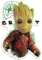 Marvel Guardians of the Galaxy Groot Eyes Wall Art