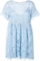 P.A.R.O.S.H. Rift lace dress - women - Cotton/Polyamide/Polyester/Viscose - XS