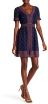 French Connection Woodstock Georgette V-Neck Dress