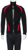 Alexander McQueen Wool Zip-Up Sweater