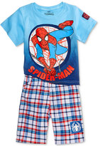 Nannette 2-Pc. Spider-Man Graphic-Print T-Shirt and Shorts Set, Toddler (2T-4T)
