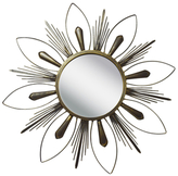 PTM Images Raindrop Wall Mirror