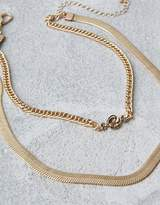 American Eagle Outfitters AE Gold Chain Short Necklace