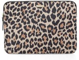 Kate Spade Leopard 13-Inch Laptop Sleeve - Brown
