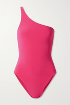Thumbnail for your product : Norma Kamali Mio One-shoulder Swimsuit - Fuchsia