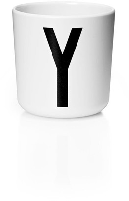 Design Letters Personal Melamine Cup - Y