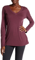 Allen Allen V-Neck Long Sleeve Tee