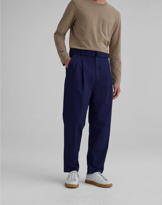 Club Monaco Belted Pleated Trousers