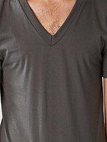 American Apparel Men's Unisex Fine Jersey Short-Sleeve V-Neck