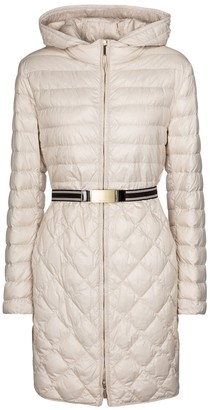 Max Mara The Cube Etrevi quilted down coat