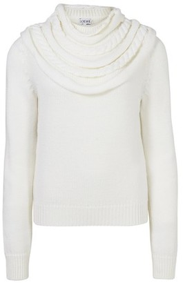 Loewe Braided collar sweater