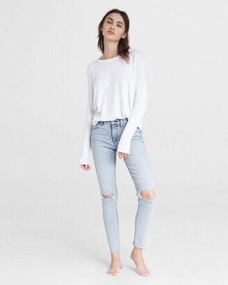 Cate mid-rise skinny - montauk