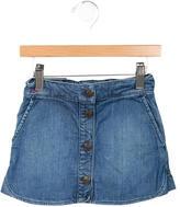 Little Marc Jacobs Girls' A-Line Denim Skirt