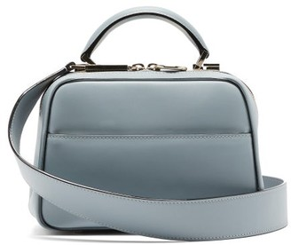 Valextra Serie S Small Smooth-leather Bag - Light Blue