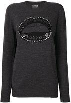 Markus Lupfer Natalie sweater - women - Merino/plastic - S