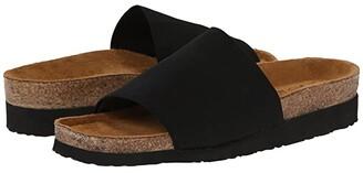 Naot Footwear Ipanema (Black Stretch) Women's Shoes