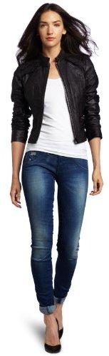 G Star G-Star Women's Aviator Leather Jacket