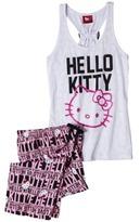 Hello Kitty Juniors Tank & Crop Sleep Set - White