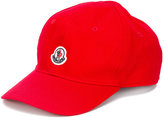 Moncler logo cap - kids - Cotton - 54 cm