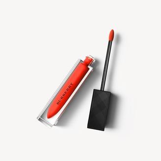 Burberry Kisses Lip Lacquer - Tangerine Red No.35