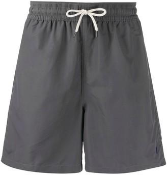 Polo Ralph Lauren Logo Embroidered Drawstring Swim Shorts