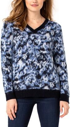Liverpool Los Angeles V-Neck Sweater