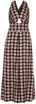 Temperley London Clarion floral-print satin jumpsuit