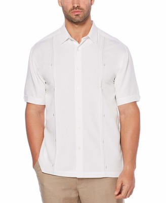 Cubavera Embroidered Panel Shirt
