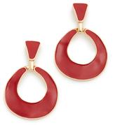 Kenneth Jay Lane Door Knocker Earrings