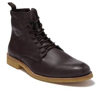 SUPPLY LAB Jonah Side Zip Lace Up Boot