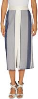 Lafayette 148 New York Women's Adelina High-Waisted Striped Midi Skirt