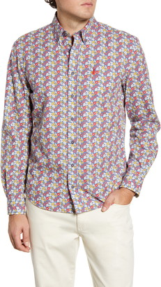 johnnie-O Rogers Hangin' Out Floral Button-Down Shirt